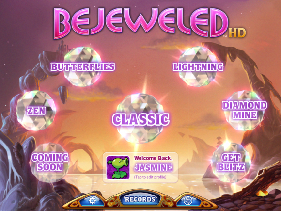 Bejeweled HD Review iPad
