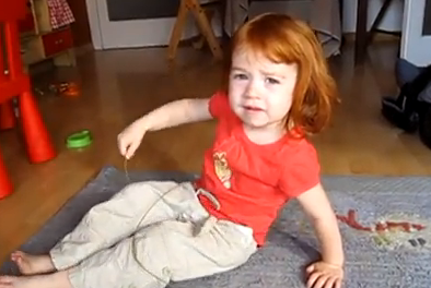 Cute of the Day: Little Girl Singing I'm a Little Teapot