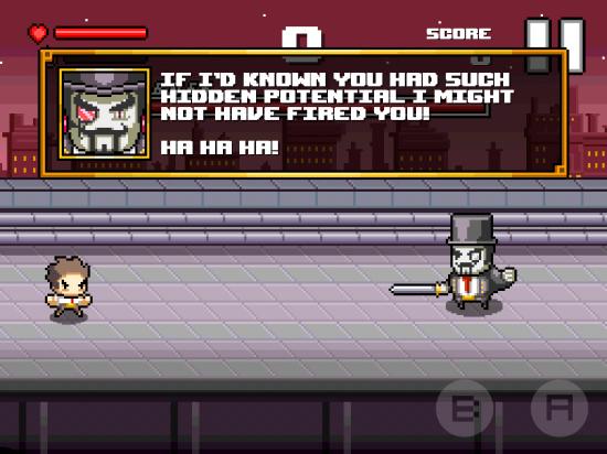 Beatdown! Last Boss fight