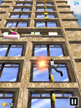 Pocket Climber Window area