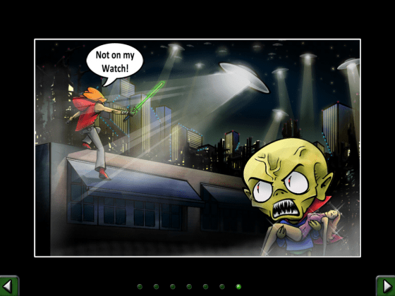 Don't Run with a plasma Sword Comic