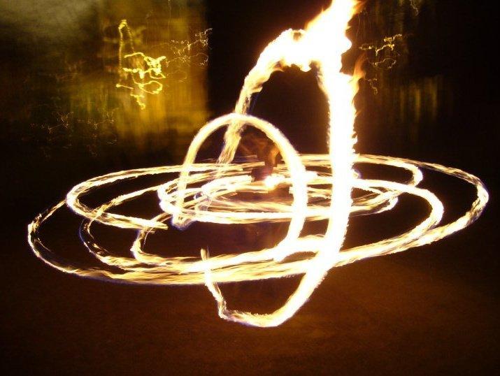 Julie Desiree Fire Dancer