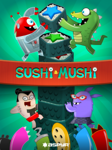 Aspyr Sushi Mushi Start Screen