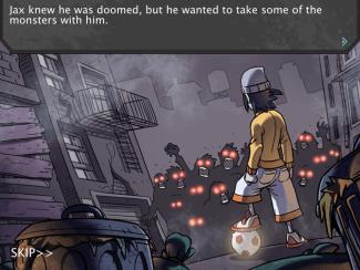 Pro Zombie Soccer intro comic