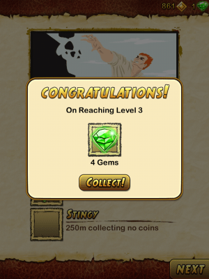 Temple Run 2 Objectives Rewards