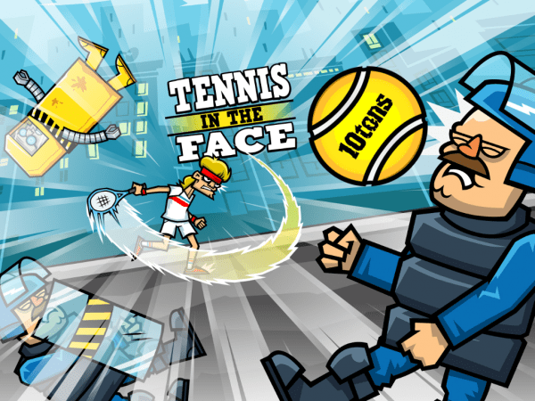 Tennis In the Face Main Screen