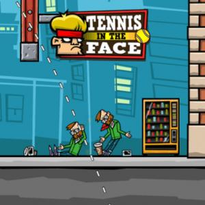 Tennis in the Face Hipster smashin