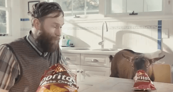 Saturday Morning Funny: Goat For Sale Doritos Commercial