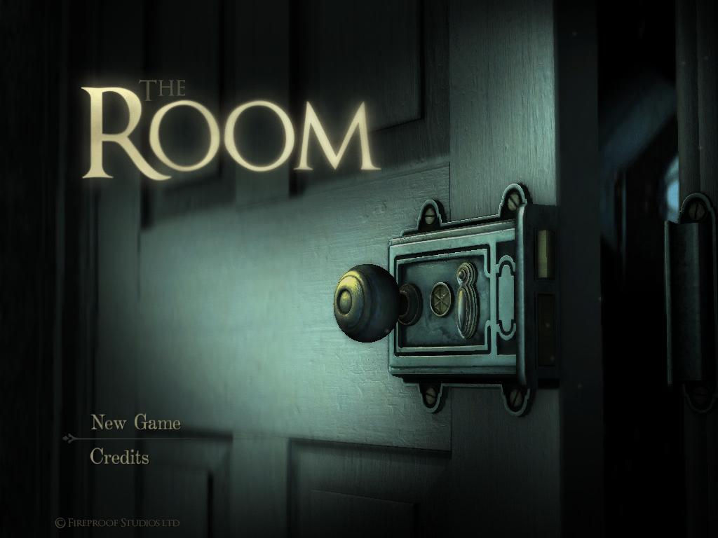 The Room start screen