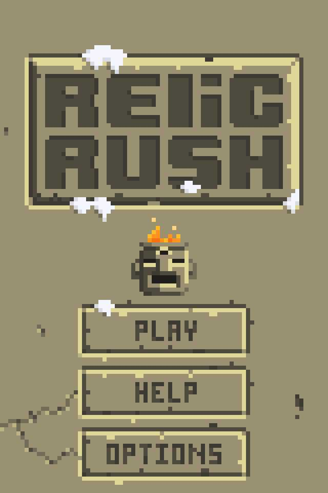 relic rush jason pickering start screen