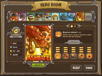 Ashbite Maxed level Kingdom Rush Frontiers