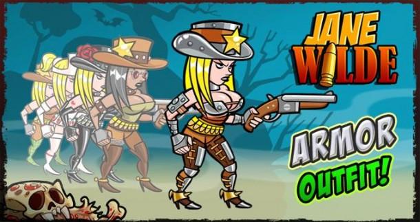 Jane Wilde armor