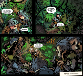 Kingdom Rush Frontiers comic
