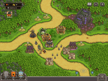 Kingdom Rush Frontiers Gameplay