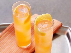 Sparkling Gin Greyhound summer cocktail