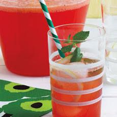 strawberry mint daiquiri summer cocktail