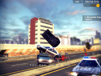 Crashing a car you cant afford never looked so good on the iPad.