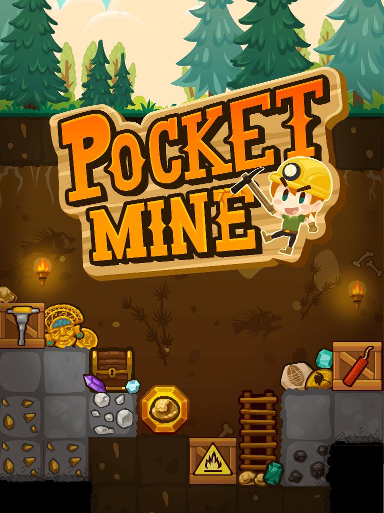 Pocket Mine Start Screen