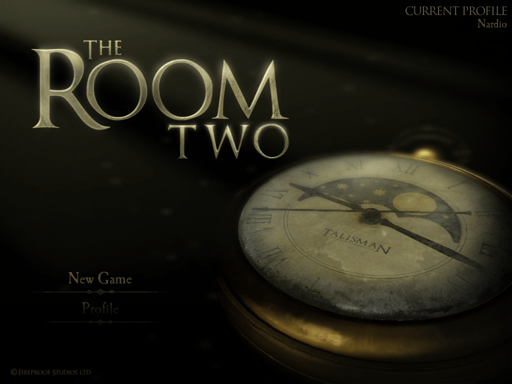 The Room Two Title Page