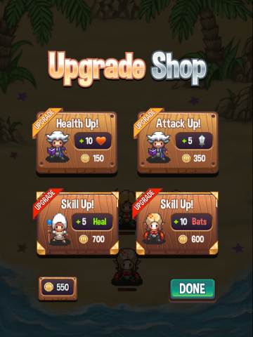 I just want to upgrade my Vampire's attack!