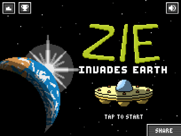 Zie Invades Earth