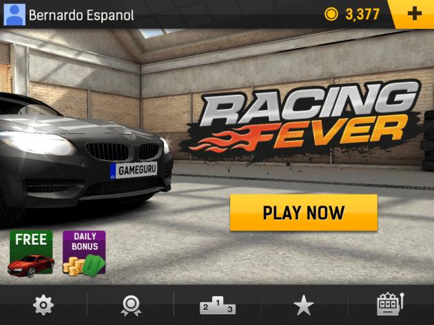 Racing Fever Main