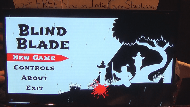 Blind Blade Main Screen
