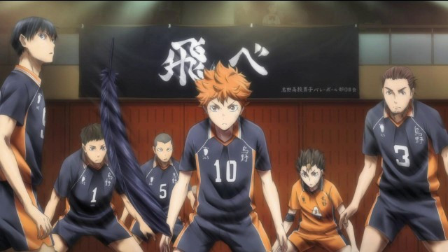 haikyu action shot