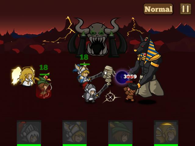 New Heros Parodox gameplay