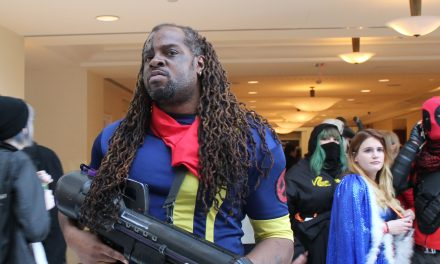 Bishop Cosplay at Katsucon 2016