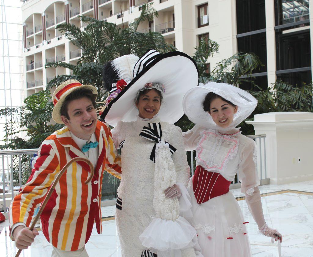 Katsucon Mary Poppins and Eliza Doolittle