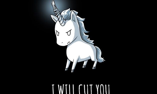 Stabby the Unicorn – T-shirt of the Day