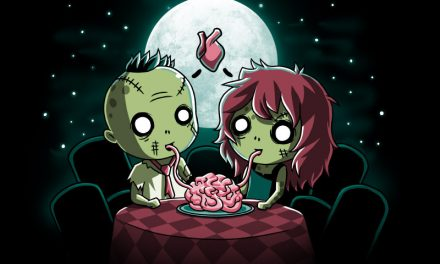 T-Shirt of the day Zombie Love