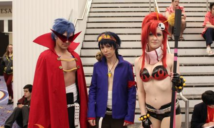 Gurren Lagann cosplay at Katsucon