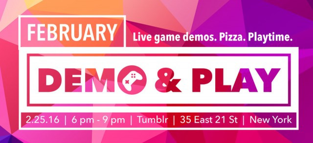 Playcrafting Demo and Playnight coming soon