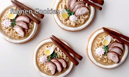 Ramen cookie tutorial