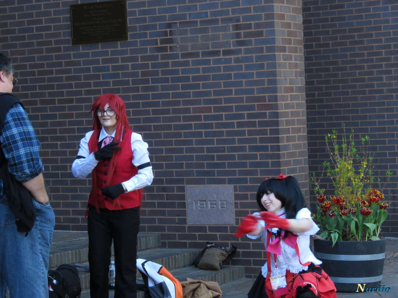 Castle Point Anime Convention Black Butler group 001