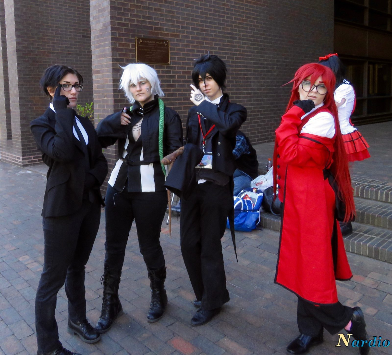 Castle Point Anime Convention Black Butler group 002 Getting