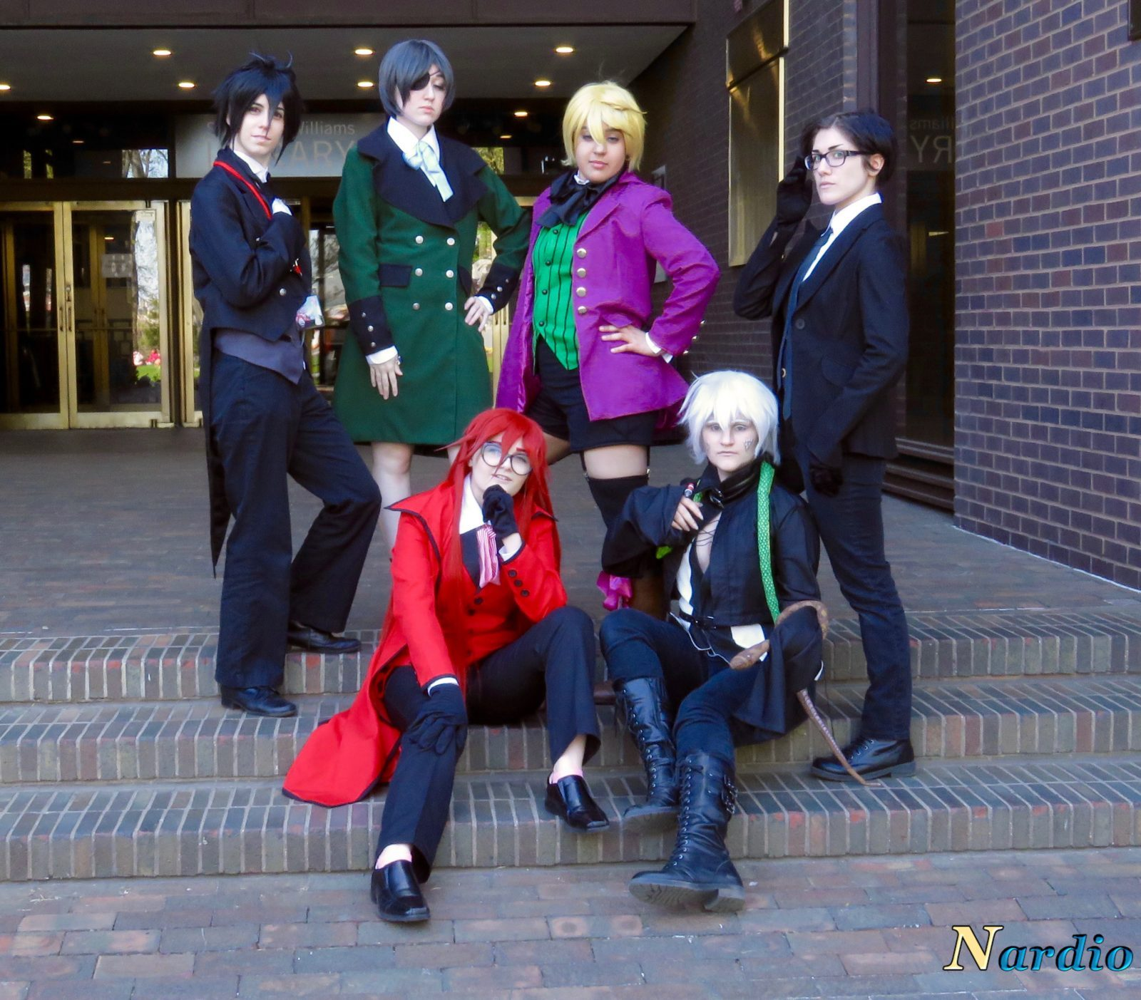 Castle Point Anime Convention Black Butler group 003 Main Group Shot