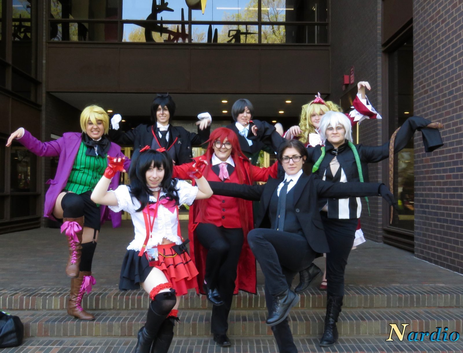 Castle Point Anime Convention Black Butler group Final awesome shot