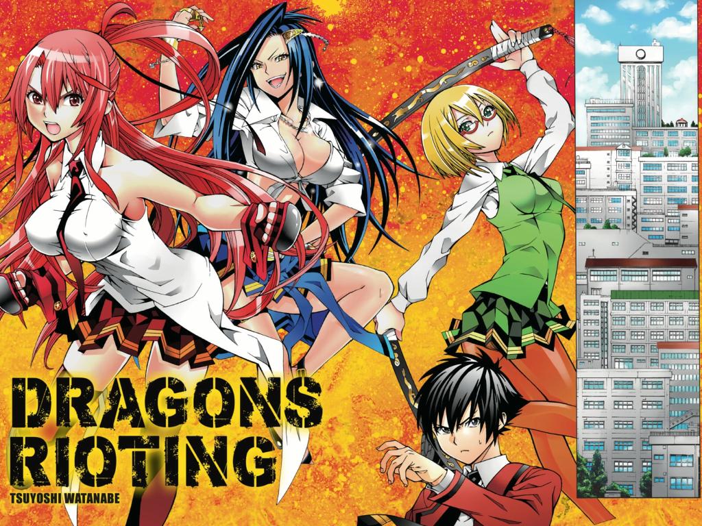Dragons Rioting Cast