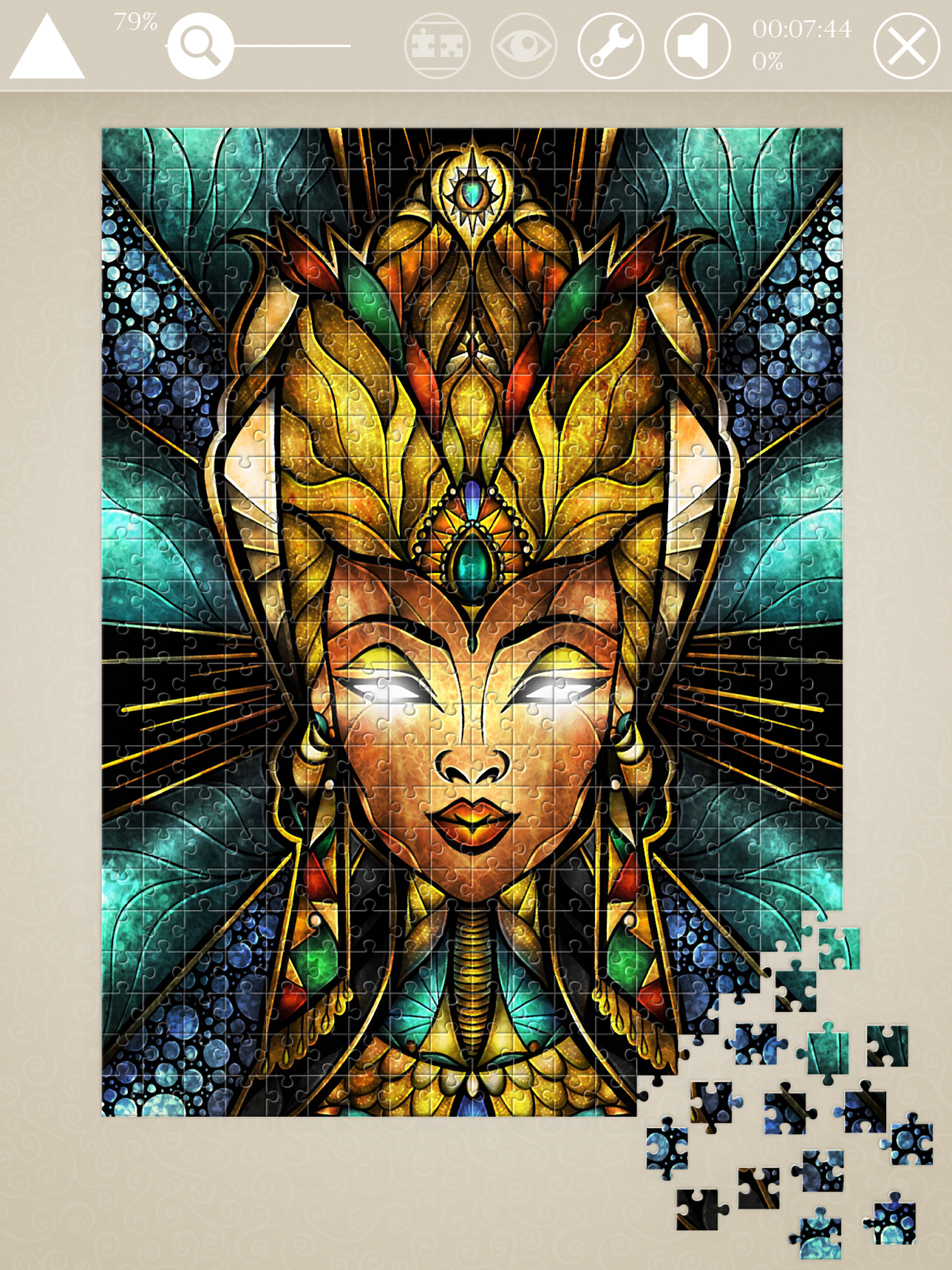 Mandie Manzano Jigsaw Puzzle Art main