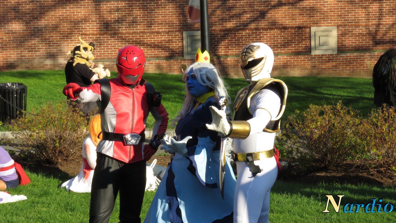Castle Point Anime Convention Power Rangers bonus