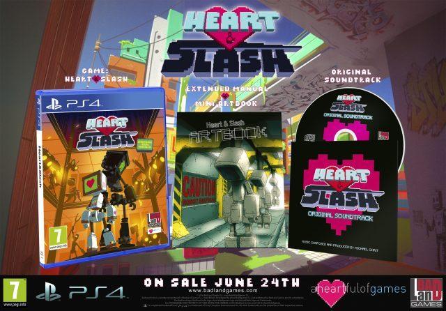 Heart and slash games
