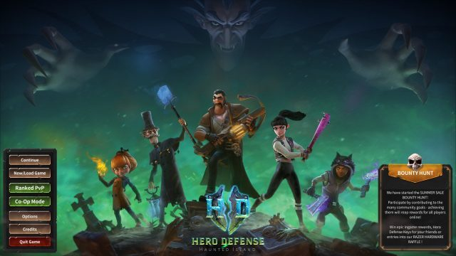 Hero Defense Main