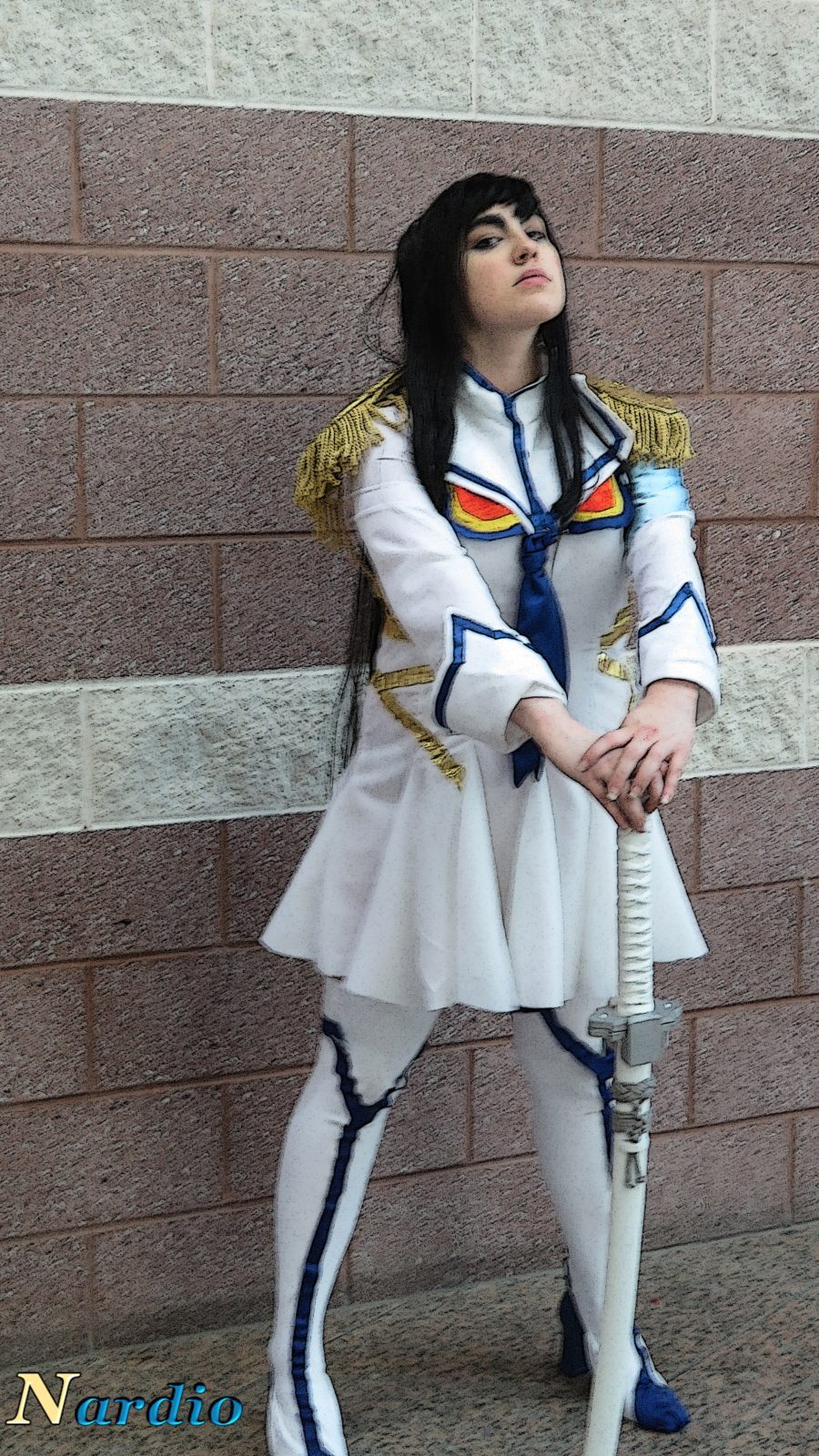 Julia as Satsuki Kiryuin boss filter