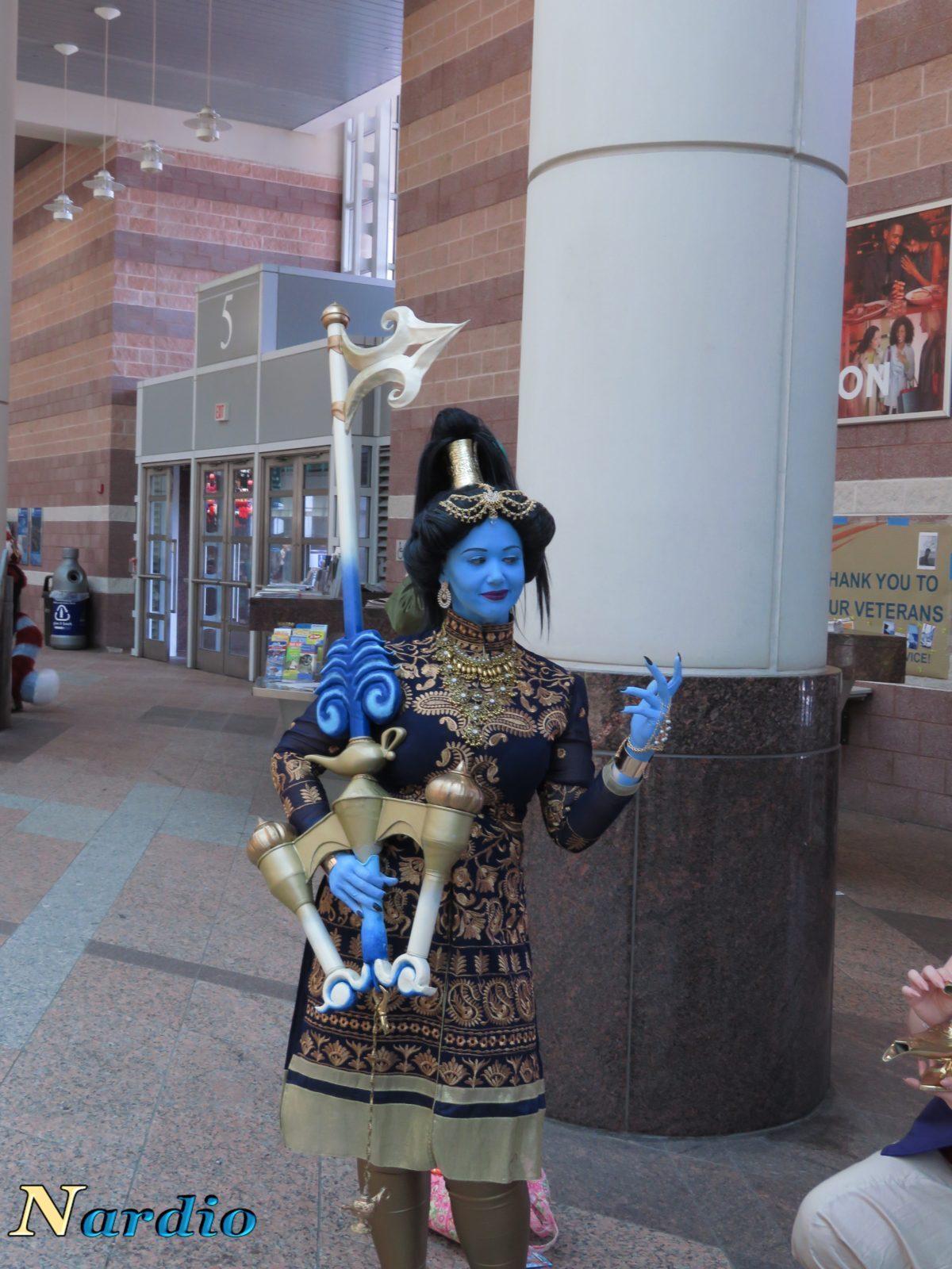 Aladdin and Genie AnimeNext Cosplay 1