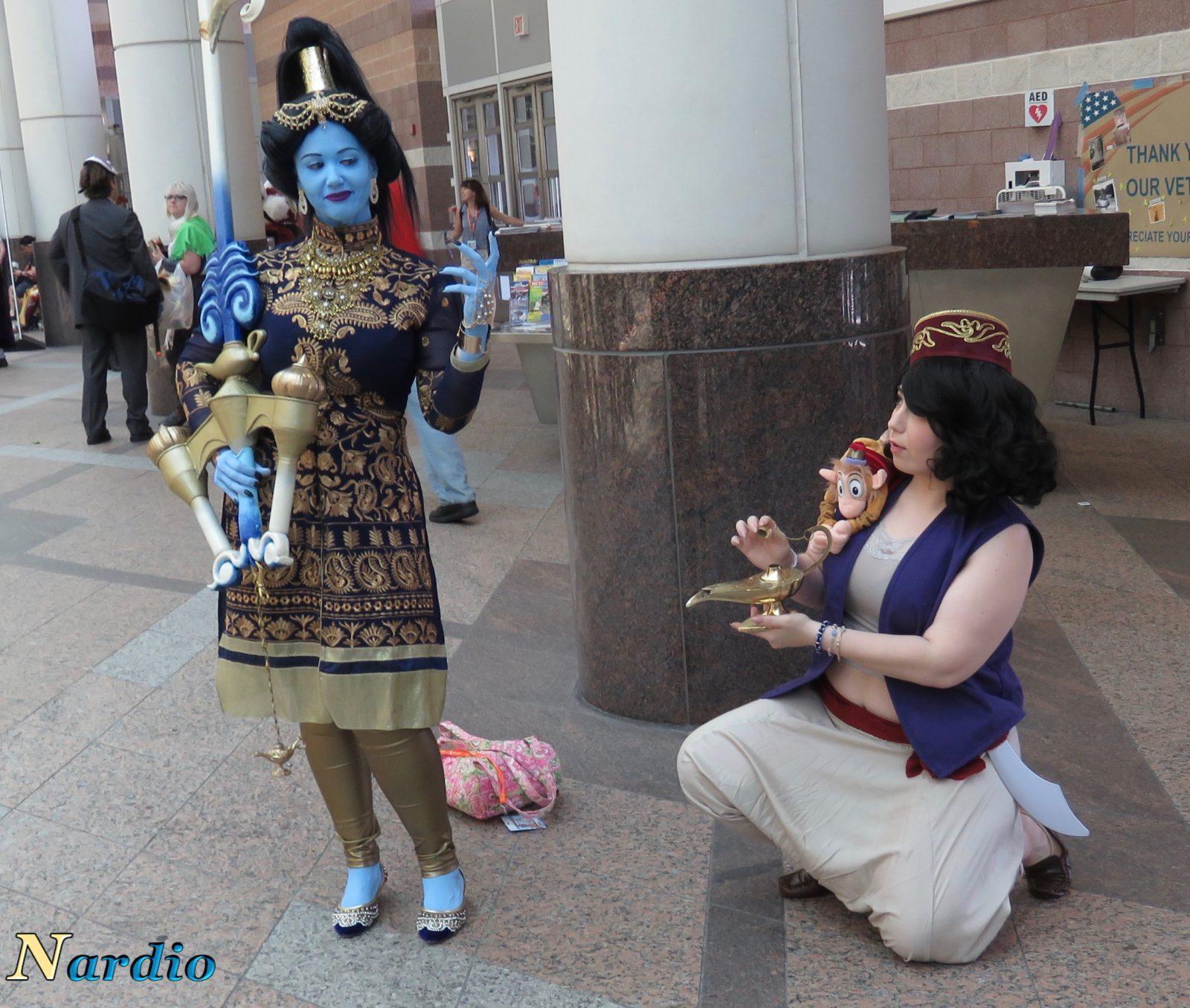 Aladdin and Genie AnimeNext Cosplay 3