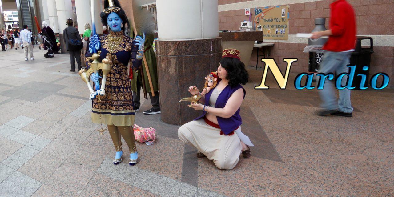 Aladdin & Genie Cosplay