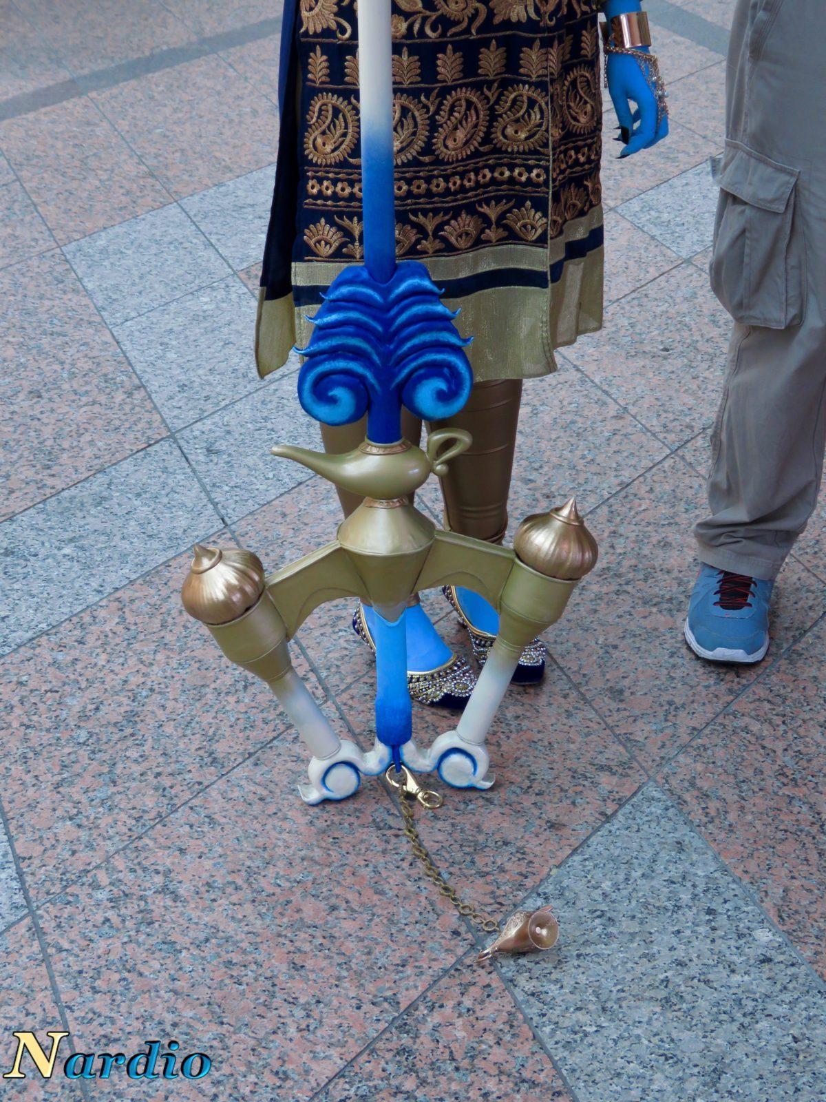 Aladdin and Genie AnimeNext Cosplay Sword bottom